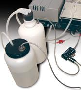 The Liquid Level Alert™ option allows users the convenience of continuous monitoring for both supply and waste bottles.