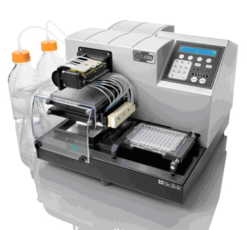 EL406™ Microplate Washer Dispenser.