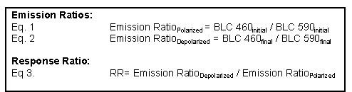 Basic Calculations Necessary to Determine Response Ratio.