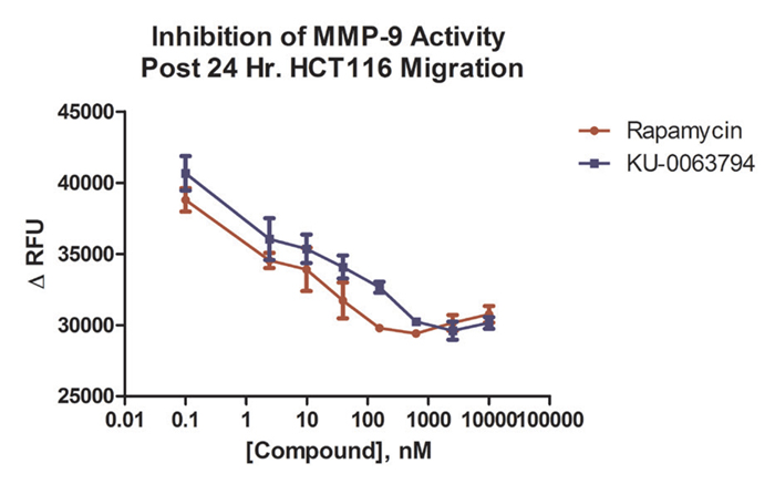 Detection of MMP-9 activity