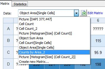 Export to Exce Display alternative cell count