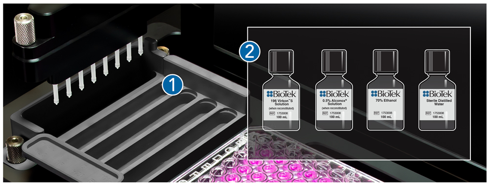 Built-in Dilution Calculator facilitates downstream applications