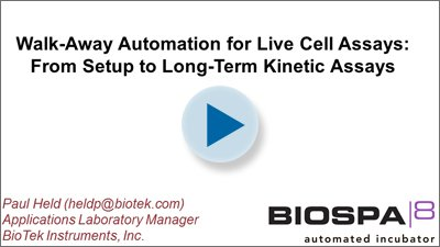 Walk-Away Automation for Live Cell Assays: From Setup to Long-Term Kinetic Assays