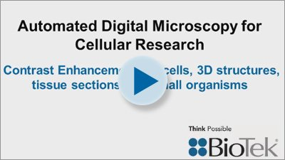 Automated Digital Microscopy for Cellular Research