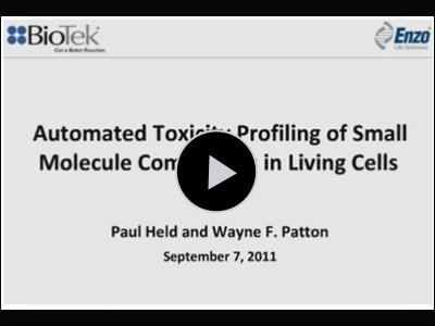 Automated Toxicity Profiling of Small Molecule Compounds in Living Cells