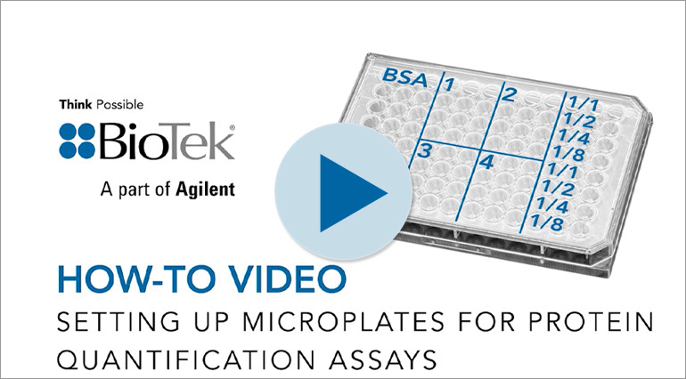 How To Setup Microplates for Protein and DNA Quantitative Assays