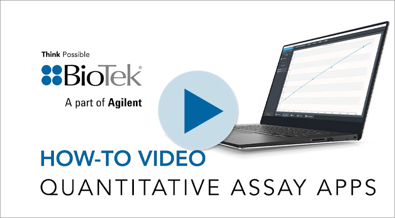 How to Perform Protein and DNA Assays with BioTek's Quantitative Assay Apps